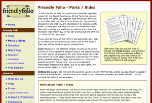Friendly Folio screenshot